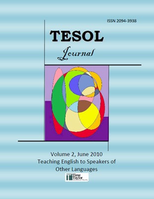 thesis in tesol